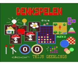 Denkspelen de luxe (1991, MSX2, Thijs Geerlings)