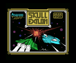 Skull Exilon (1988, MSX, Genesis Soft)