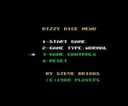 Dizzy Dice (1988, MSX, Players)