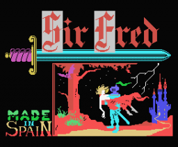 Sir Fred (1986, MSX, Made in Spain)