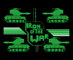 Iron of the War (1986, MSX, Mind Games España)