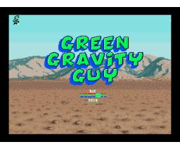 Green Gravity Guy (2016, MSX, bit Vision)