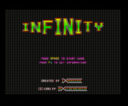 Infinity (1991, MSX2, Experience Soft)