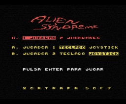 Alien Syndrome (1988, MSX, Xortrapa Soft)