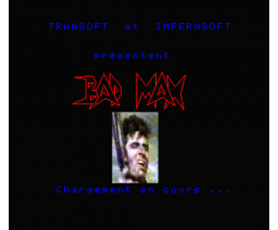 Bad Max (1986, MSX2, Transoft)