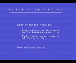 Loteria Primitiva (MSX, Manhattan Transfer)