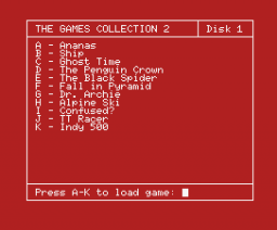 The Games Collection 2 (1989, MSX, MSX2, Eurosoft)