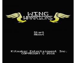 Wing Warriors (2016, MSX, Kitmaker Entertainment Inc.)