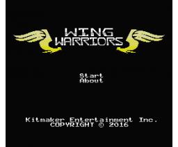 Wing Warriors (2016, MSX, Kitmaker Entertainment Inc.)