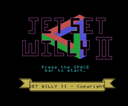 Jet Set Willy II (1985, MSX, Software Projects)