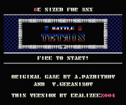 Kralizec Battle Tetris (2004, MSX, Kralizec)