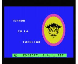 Terror en la Facultad (1987, MSX, Edisoft)