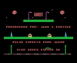 Ghost (1989, MSX, Mind Games España)