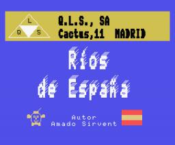 Ríos de España (1987, MSX, Q.L.S.)