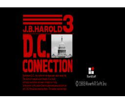 D.C. Connection (1989, MSX2, MSX2+, Riverhill Soft Inc.)
