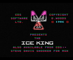 Ice King, The (1986, MSX, CDS Software)