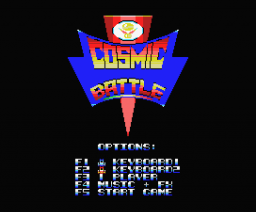 Cosmic Battle (beta) (2005, MSX, Vendetta)
