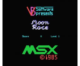 Moon Race (1985, MSX, Volker Becker)