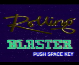 Rolling Blaster (1985, MSX, LaserDisc Corporation)
