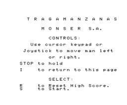 El Tragamanzanas (MSX, Monser)
