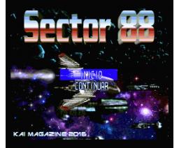 Sector 88 (2016, MSX2, MSX2+, Turbo-R, Kai Magazine)