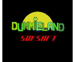Dummieland (1994, MSX2, Soksoft)