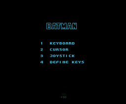 Batman (The Movie) (1989, MSX, Ocean)