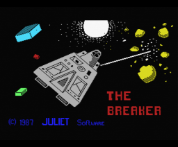 Brick Breaker (1987, MSX, Juliet Software)