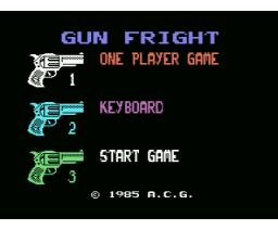 Gun Fright (1985, MSX, A.C.G.)