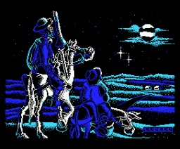Don Quijote (1987, MSX, Dinamic)