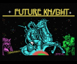 Future Knight (1986, MSX, MSX2, Gremlin Graphics)