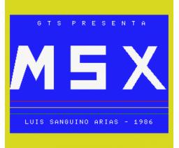MSX Software Nº5 (1986, MSX, Grupo de Trabajo Software (G.T.S.))