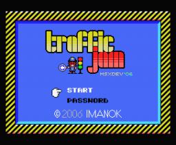 Traffic Jam (2006, MSX, Imanok)