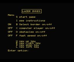 Lazer Bykes (1985, MSX, PSS)