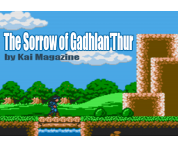 The Sorrow of Gadhlan 'Thur (2018, MSX2, Kai Magazine)