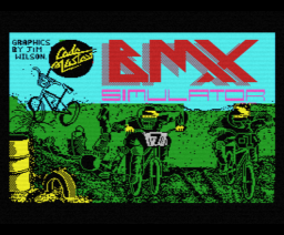 BMX Simulator (1986, MSX, Codemasters)