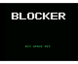 Blocker (MSX, Grupo de Trabajo Software (G.T.S.))