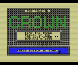 The Penguin Crown (1989, MSX, Robware)