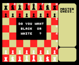Master Chess (1987, MSX, Mastertronic)
