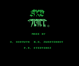 Sky Vision (1987, MSX, The Bytebusters)