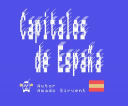 Capitales de España (1987, MSX, Q.L.S.)