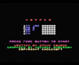 Hopper (1986, MSX, Aackosoft)