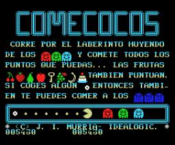 Comecocos (MSX, Idealogic)