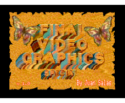Final Video Graphics (1992, MSX2, Juan Salas)