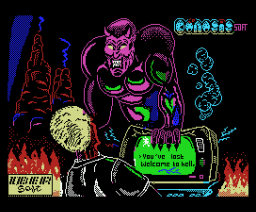 Post Mortem (1988, MSX, Genesis Soft, Iber Soft)