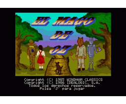 The Wizard of Oz (1986, MSX2, Windham Classics)