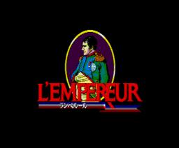 L'Empereur (1990, MSX2, KOEI)