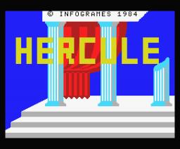 Hercule (1984, MSX, Infogrames)