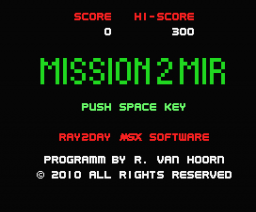 Mission2Mir (2010, MSX, Ray2Day)