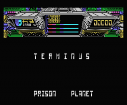 Terminus - The Prison Planet (1987, MSX, Mastertronic)